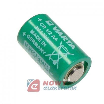 Bateria 3V lit. FI14*25mm 1/2AA BAT-CR1/2AA   (bez drutów)