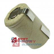 Akumulator do pakietu BYD4/5SCZB 1400mAh 1,2V (z blaszk.) 22x33mm