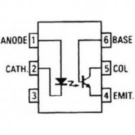 4N38                  Transoptor