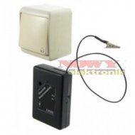 Dzwonek bezprzewodowy bateryjny 4DB ELPIAST, przycisk hermetyczny