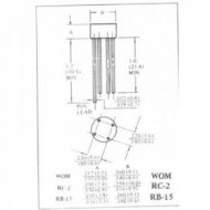 Mostek 1,5A/1000V W10, RB157