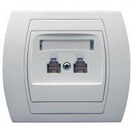 Gniazdka telefoniczne i komputerowe LAN