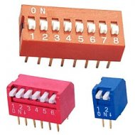 DIP SWITCH i Zwory