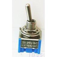 Przełącznik MTS 202 2 poz. ON-ON 6-pin