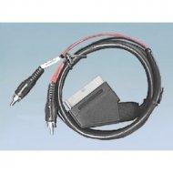 Kabel SCART-2*RCA 1,2-1,5m AUDIO