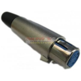 Gniazdo mikrof. 5 pin na kabel