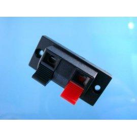 Gniazdo głośnikowe prost. 2 pin kolumnowe