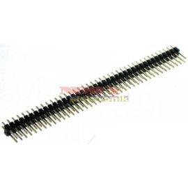 Wtyk PH80DS pin prosty złoc. 2x40 pin h-11,6 r-2,54