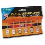 Olej Oleje serwisowe 6x3 ml.