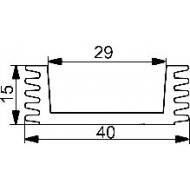 Radiator A4755 L-3cm