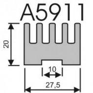 Radiator A5911 L-3cm