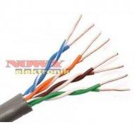 Przewód LAN UTP-5 linka CU miedź