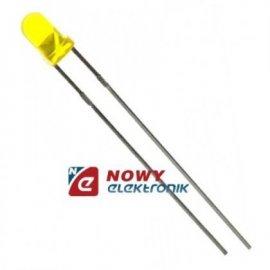 Dioda LED 3mm żółta I