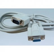 Kabel do mon. HDB15M/F 3m