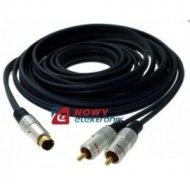 Kabel SVHS-2*RCA 5m
