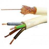 Przewód YAP75+4x0,50mm Koncentryk + kabel zasilający 4 żyły