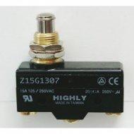 Krańcówka Z-15-G-13-07 przycisk 21mm  15A 250VAC