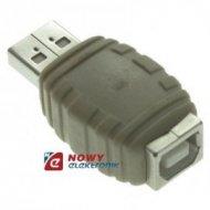 Przejście USB A-wt/B-gn --28894
