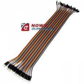 Kabel do płytek styk.40p m/ż 30c połączeniowe męsko-żeński 30cm