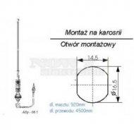 Antena samochodowa ASp-06.1
