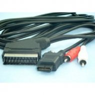 Kabel SCART-RGB+2*wt.RCA+gn.RCA 2m. do PS ONE
