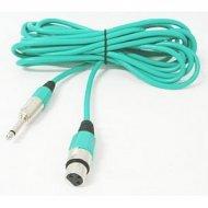 Kabel mikr.5m gn.XLR-wt.6.3 (Kolor)
