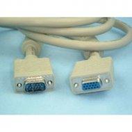Kabel do mon. HDB15M/F 1,8m 1.5m Z filtrem SVGA