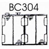 Koszyk baterii R6x4 BC304