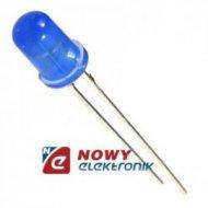 Dioda LED 5mm NIEBIESKA LX L330 Soczewka błękitna