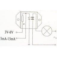 KDT09-40 400V/9A Optotriak    -- 70604  KDTO1060