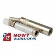 Gniazdo JACK 6,3mm st.metal na k na kabel