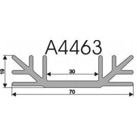 Radiator A4463 L-10cm