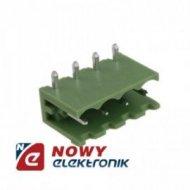 Wtyk HX250R-04 Zielony 4pin kąt