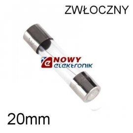 WTAT 15A Wkładka topikowa 20mm ZKT15A/250V