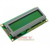 Matryca LCM-WM-C1601M-1YLY wintek 16x1, STN, LED, żółto-ziel.6:00