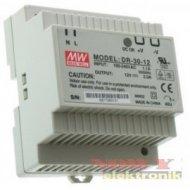 Zasilacz imp. DIN 12V/2A    DR30 DR 30-12 Przemysłowy na szynę