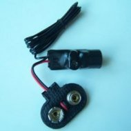 Mikrofon bezprzew.P-007 pluskwa na radio FM 9V 6F22 (88-108MHz) podsłuch