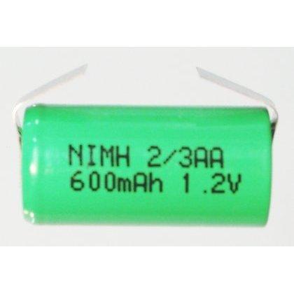 Akumulator do pakietu BH-2/3AA 1,2V 600mA 14x28mm Ni-MH