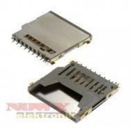 Gniazdo montażowe karty SD montaż SMD