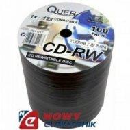 Płyta CD-RW QUER 700MB/80min SLIM