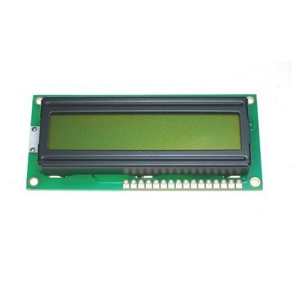 Matryca LCD WC1601ASTBLWNC06RP 16x1zn,LED,niebieski,negat.cyr.80x36mm