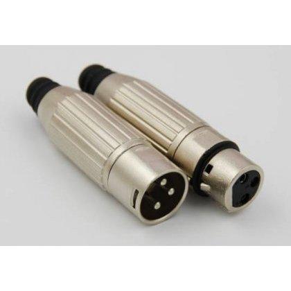 Gniazdo mikrof. 3 pin.Q-line