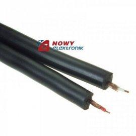 Przewód 2x RCA -5 mm czarny