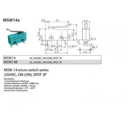 Krańcówka MSW-14 --k.74556