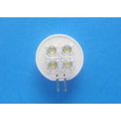 LED G4 T25-G4 WARM WHITE AC12V 4led Flux  zamiennik za żarówkę