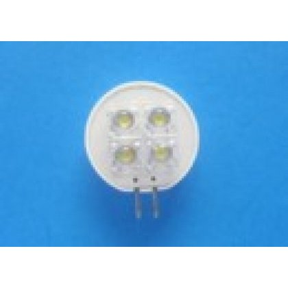 LED G4 T25-G4 COLD WHITE AC12V 4led Flux  zamiennik za żarówkę