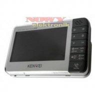 """Monitor vid. KW-128C Bezsł.z pam Kolor 7"""" z pamięcią  VKWS/G-128C/W200"""