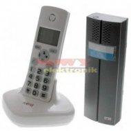 Zestaw domofonowy bezprz.CL3622W EURA bezprzewodowy BIAŁY