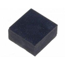Nóżka gumowa samoprz.6,4x6,4x3mm kwadratowa czarna SF-001