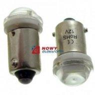 Dioda LED BA9S-10 W 5050  12V biała